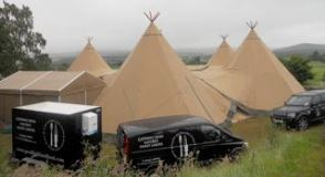Good Highland Food Events Tipi