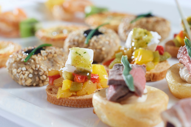 Good Highland Food Scottish canapes