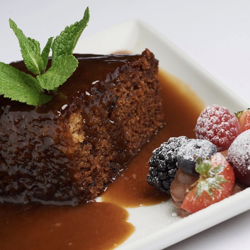 Good Highland Food sticky toffee pudding