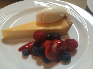 Good Highland Food lemon tart dessert