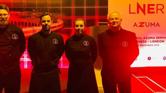 Good Highland Food catering event team