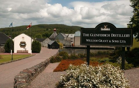 Glenfiddich Distillery event venue