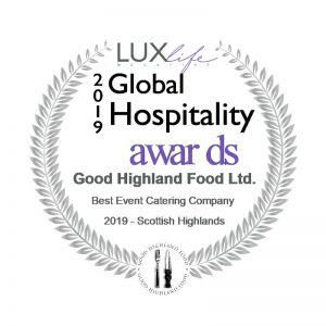 Good Highland Food Global Hospitality Awards 2019 awards