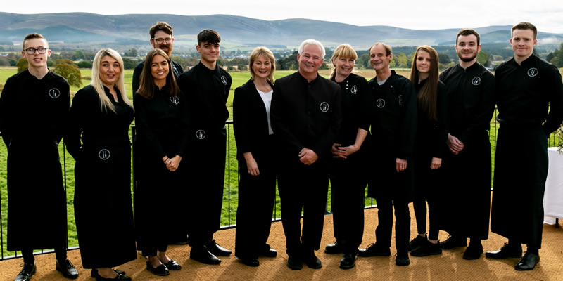 Good Highland Food catering team