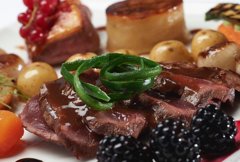 GHF Duncan Fraser inverness beef dish