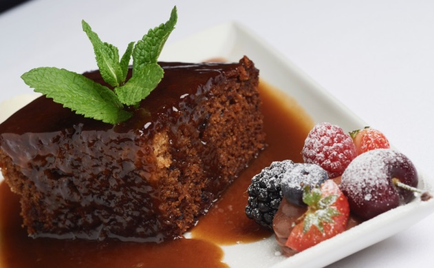 GHF Sticky Toffee Pudding